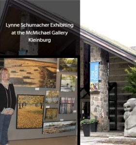 Lynne at McMichael Gallery